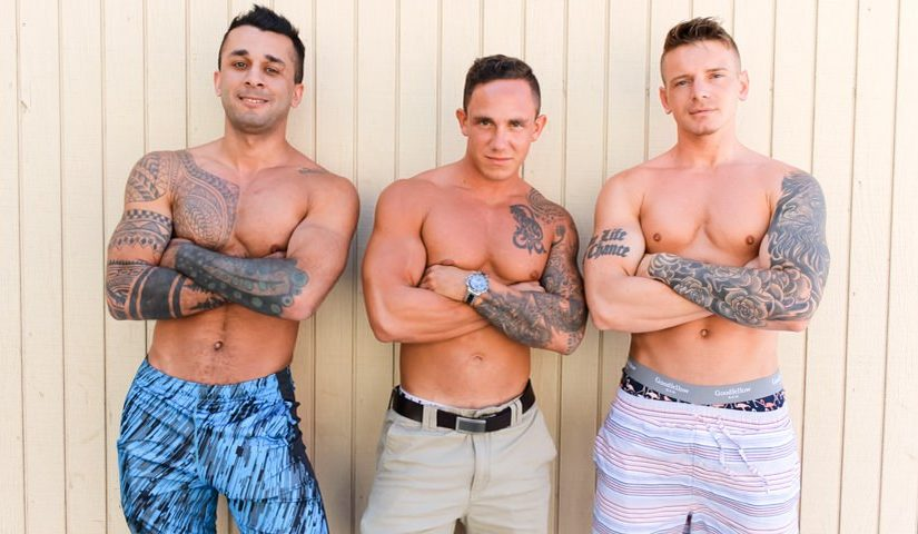 Cole Weston, Laith Inkly & Gunner