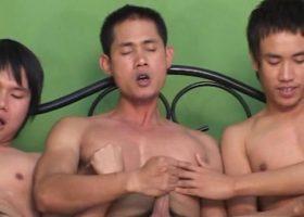 Three Asian Boys